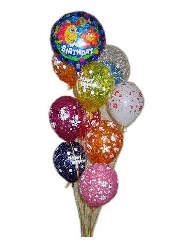 О подарке шарики c днем рождения